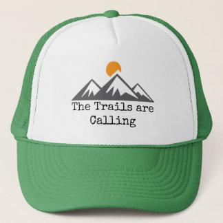 Gorra De Camionero Los rastros están llamando
