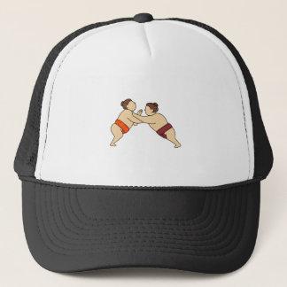 Gorra De Camionero Luchador del sumo de Rikishi que empuja la mono