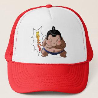 Gorra De Camionero Luchador divertido del sumo con Dosukoi