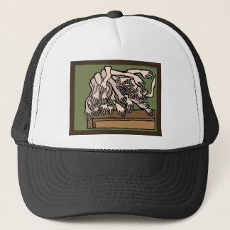 Gorra De Camionero Manos del maniquí