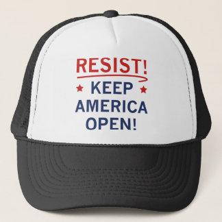 Gorra De Camionero Mantenga América abierta