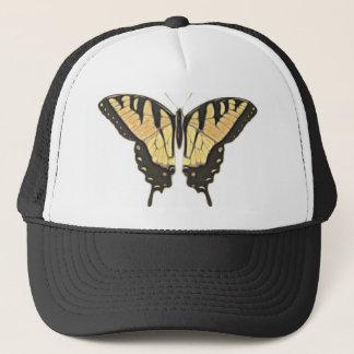 Gorra De Camionero mariposa cercana