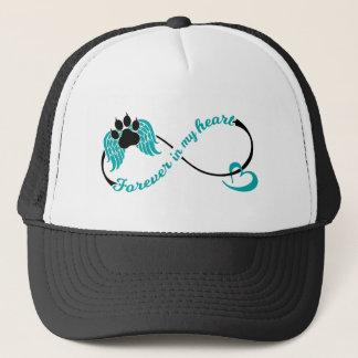 Gorra De Camionero Mascotas para siempre en mi corazón