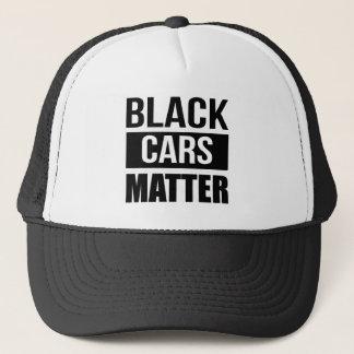 Gorra De Camionero Materia negra de los coches - humor divertido de