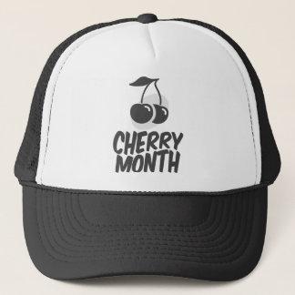 Gorra De Camionero Mes de la cereza - día del aprecio