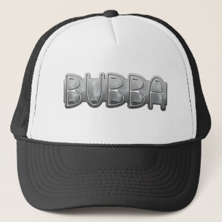 Gorra De Camionero Metal BUBBA - Campesino sureño Bling