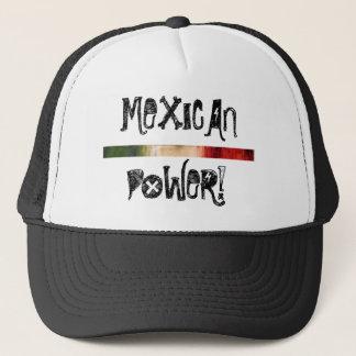 GORRA DE CAMIONERO MEXICAN POWER HAT
