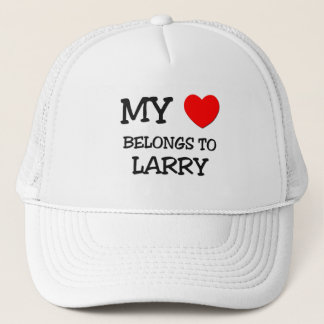 Gorra De Camionero Mi corazón pertenece a Larry