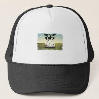 Gorra De Camionero Mi día de la manera - día del aprecio