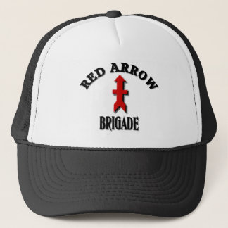Gorra De Camionero Militares rojos de la brigada de la flecha