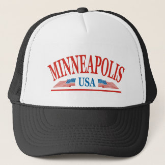 Gorra De Camionero Minneapolis Minnesota los E.E.U.U.