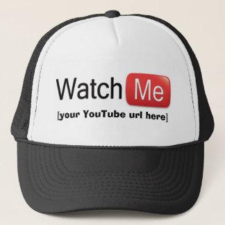 Gorra De Camionero Míreme en YouTube (básico)
