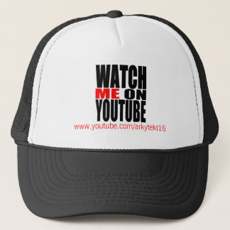 Gorra De Camionero Míreme en YouTube (moderno)