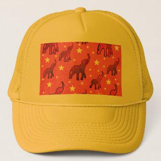 Gorra De Camionero Modelo de estrellas de los elefantes rosados