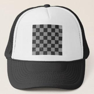 Gorra De Camionero Modelo del ajedrez