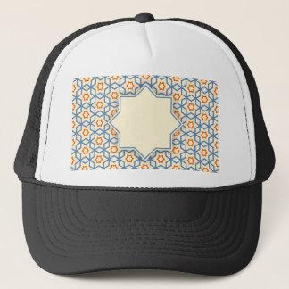 Gorra De Camionero modelo geométrico islámico