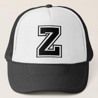 """Gorra De Camionero Monograma de la letra """"Z"""""""