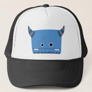 Gorra De Camionero Monstruo de cuernos azul