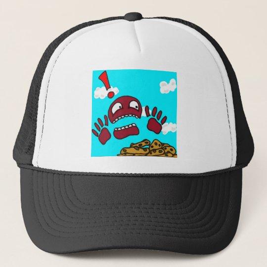 Gorra De Camionero Monstruo de la galleta