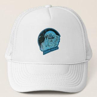 Gorra De Camionero Morsa del zombi - hielo azul original