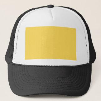 Gorra De Camionero mostaza del color