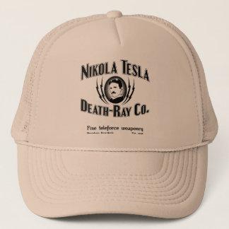 Gorra De Camionero Muerte-Rayo Co. de Nikola Tesla