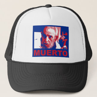 Gorra De Camionero Muerto de Castro (cubana de colores de bandera)