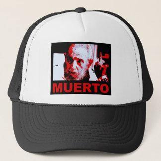 Gorra De Camionero Muerto de Castro (rojo)