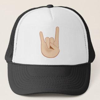 Gorra De Camionero Muestra de los cuernos Emoji