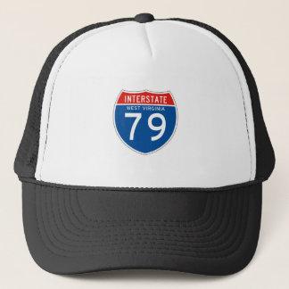 Gorra De Camionero Muestra de un estado a otro 79 - Virginia