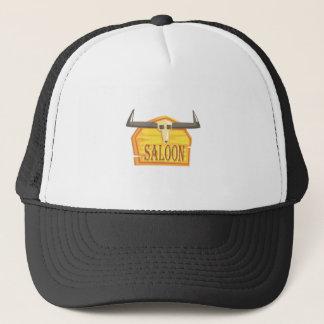 Gorra De Camionero Muestra del salón con el dibujo de la cabeza
