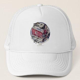 Gorra De Camionero Mujer Maravilla hacia arriba a la victoria