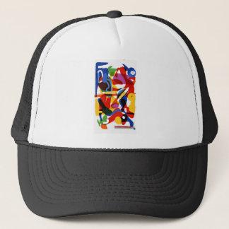Gorra De Camionero Mundo abstracto de la MOD