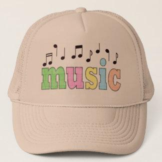 Gorra De Camionero Música con las notas