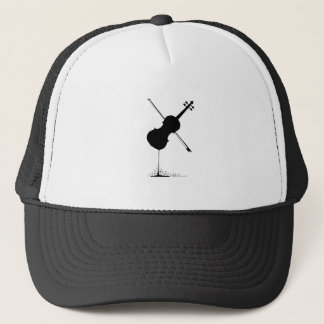 Gorra De Camionero Música del violín que fluye