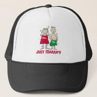 Gorra De Camionero Navidad apenas casado