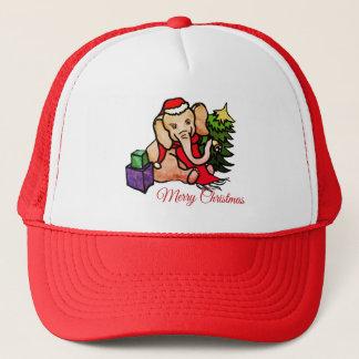Gorra De Camionero Navidad lindo de Campana-Sonido del elefante de