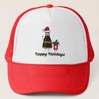 Gorra De Camionero Navidad Santa del niño del niño del paquete de la