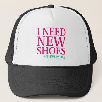 Gorra De Camionero Necesito los nuevos zapatos