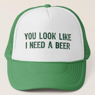 Gorra De Camionero Necesito una cerveza