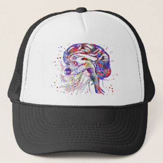 Gorra De Camionero Nervios craneales del cerebro, nervios craneales