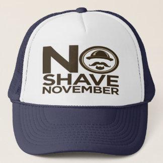 Gorra De Camionero Ninguna barba del bigote de noviembre del afeitado