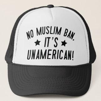 Gorra De Camionero Ninguna prohibición musulmán