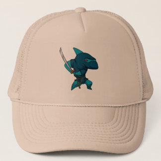 Gorra De Camionero Ninja del tiburón