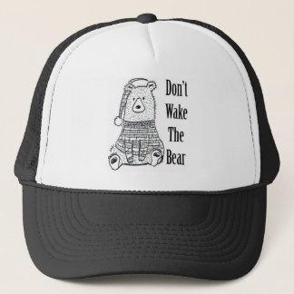 Gorra De Camionero No despierte el oso