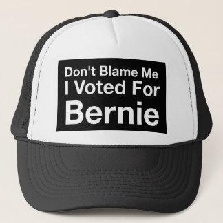 Gorra De Camionero No me culpe que voté por Bernie
