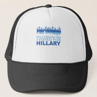 Gorra De Camionero No me culpe que voté por Hillary Clinton