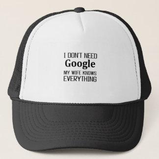 Gorra De Camionero No necesito Google