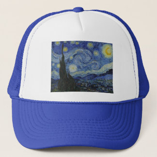 Gorra De Camionero Noche estrellada de Vincent van Gogh - 1889