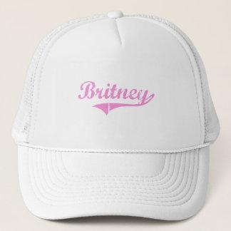 Gorra De Camionero Nombre clásico del estilo de Britney